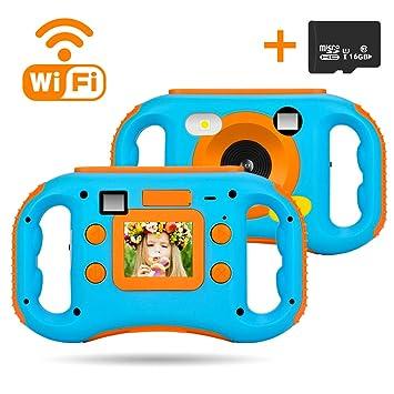 Amazon.com: iBosi Cheng Cámara WiFi para niños, 1080p HD ...