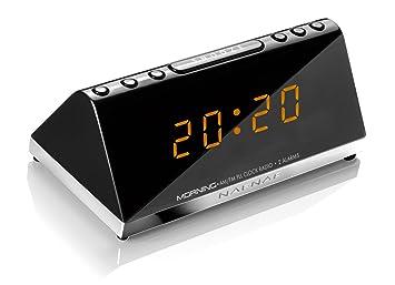 Sunstech MORNINGV2 - Radio despertador (AM/FM, digital ...