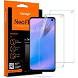 Spigen Samsung Galaxy S10 Neo Flex HD Screen Protector - 2 Pack - In-screen Fingerprint sensor compatible - Full cover Flexible
