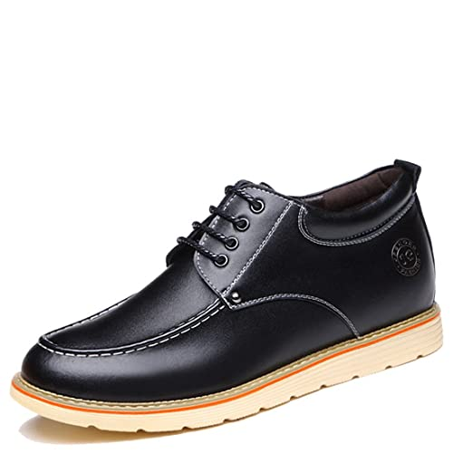 Men's Casual Work Lace-up Classic Multicolor Leather Vintage Oxford Shoes 7299