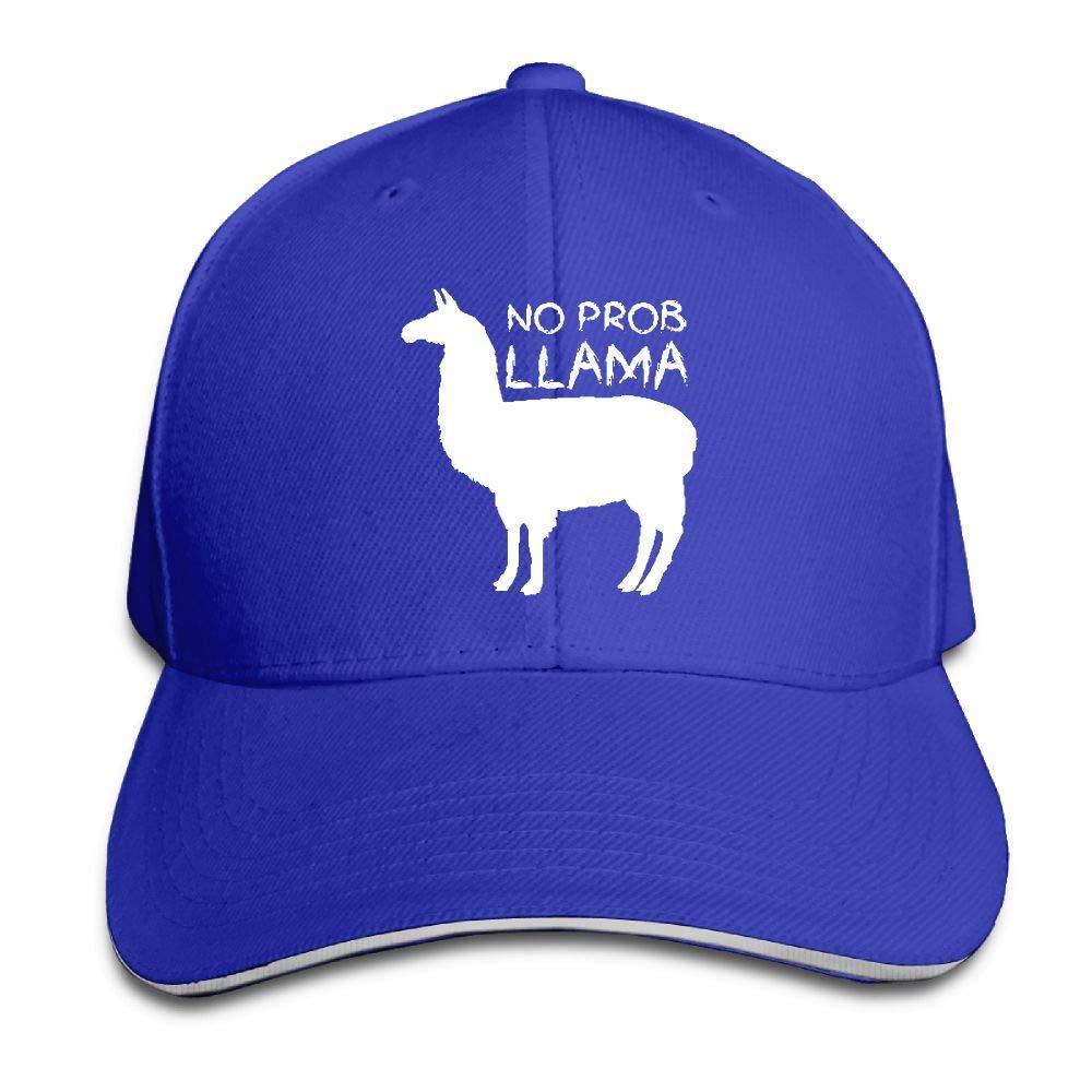 wuhgjkuo No Prob Llama Dad Hat Trucker Hat Adjustable Baseball Cap