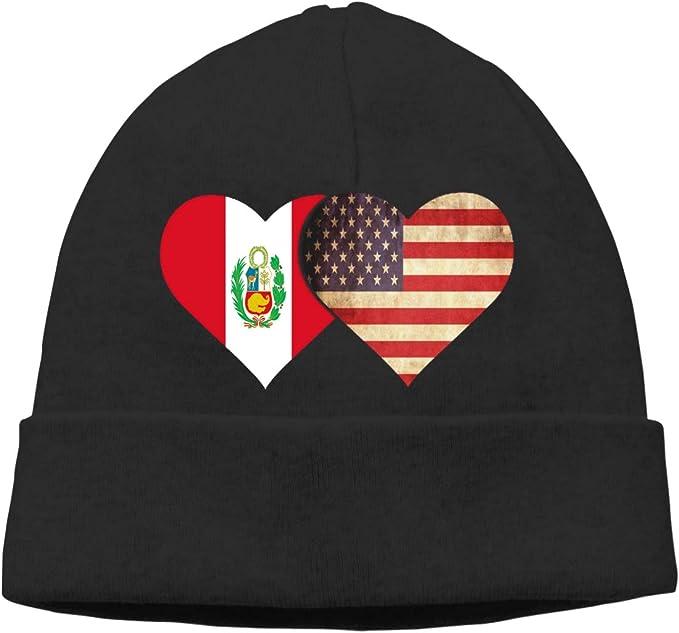 Gorro Unisex con diseño de Bandera de Perú y Bandera ...