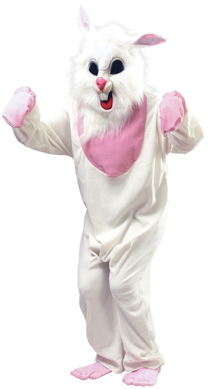 Herren Damen Evil Weiß Weiß Weiß Killer Ostern Rabbid Kaninchen Bunny Halloween Fancy Kleid Kostüm Outfit b2588e
