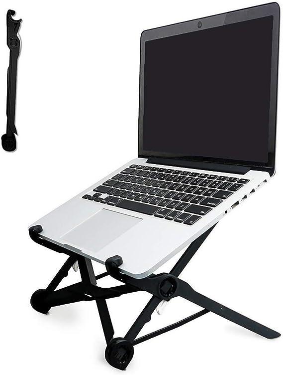 """Angolazione Regolabile Portatile Pieghevole Alluminio Ventilato Porta Notebook Leggero Notebook Riser per 10-15,6/"""" PC//Tavoletta Argento A1 KELOFO Supporto PC Portatile"""