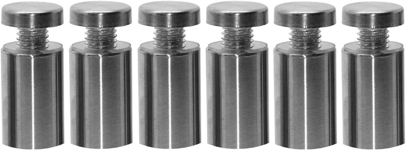 Bouton /étoile M10 en acier inoxydable avec filetage en acier inoxydable