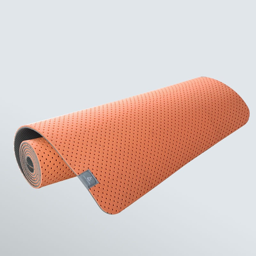 Yoga-Matten MMDP Waben 6mm Verbreiterte 61 cm Verlängert 183 cm TPE Umweltfreundliche Atmungsaktive Rutschfeste
