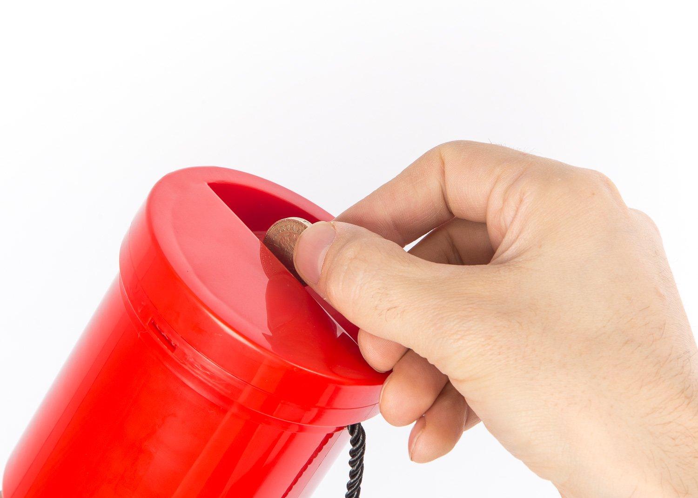 /Bo/îte Collection en plastique Charit/é Coffret emballage Argent et Blanc My Charity Bo/îtes /à main/