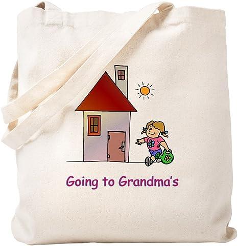 Going to Grandma/'s Tote Bag Kids Tote Bag Boys Tote Bag Overnight Bag