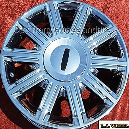Amazon Com Lincoln Town Car Set Of 4 Genuine Factory 17inch Chrome