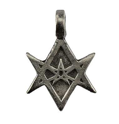 Amazon unicursal hexagram amulet necklace other products jewelry unicursal hexagram amulet necklace mozeypictures Images