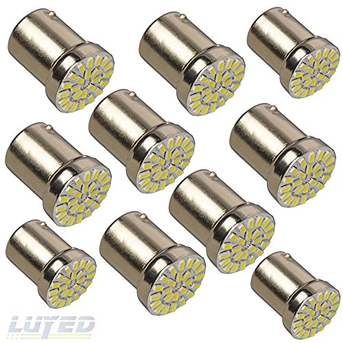LUYED 10 x 280Lumens 1156 3014 24-EX Chipsets 1156, used for sale  Delivered anywhere in USA