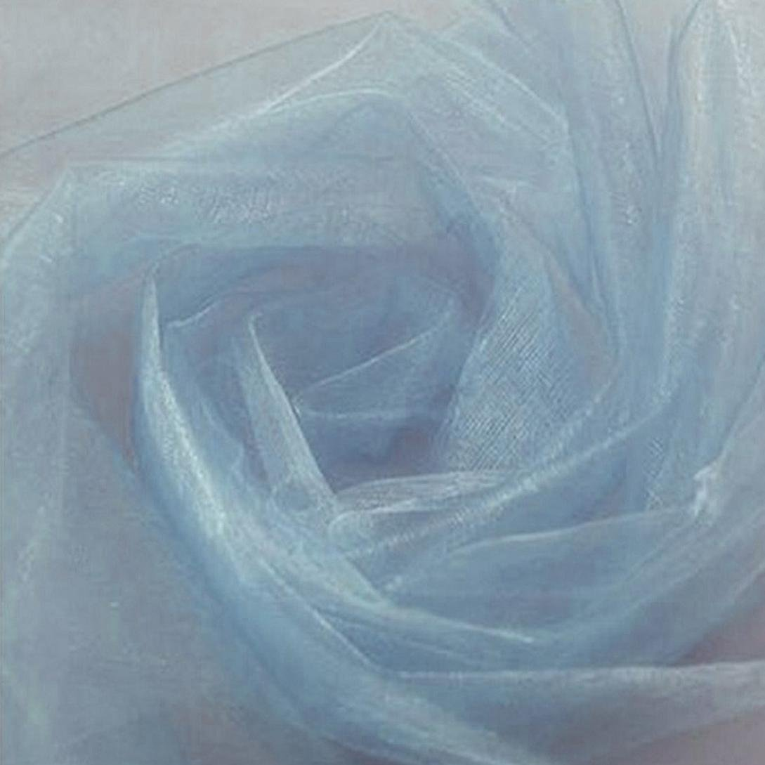 Creazy 500CM48CM Organza Sheer Organza Fabric For Wedding Backdrop Decoration (d)