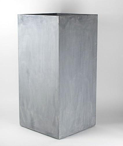 Amazon Vase Source Tall Gray Square Flower Pot Stand Elegant