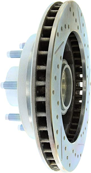 StopTech 227.67030R Select Sport Drilled and Slotted Brake Rotor; Front Right
