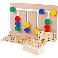 El Juego de Cuatro Colores de Madera de Tivoli Montessori, enseñanza de iluminación, Ayuda a los Juguetes de los niños.