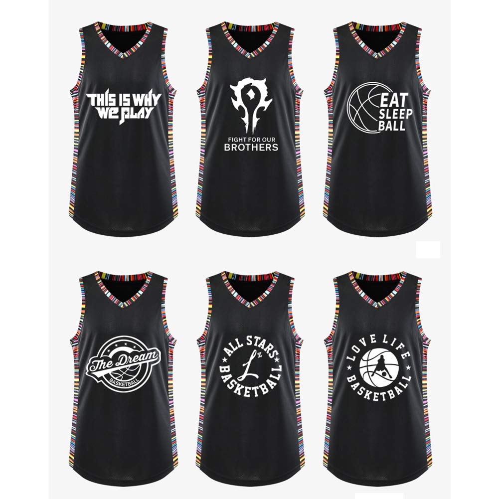 REDLIFE Camiseta De Baloncesto Top Y Pantalones Cortos Irving 11 Brooklyn para Regalos De Ni/ños.