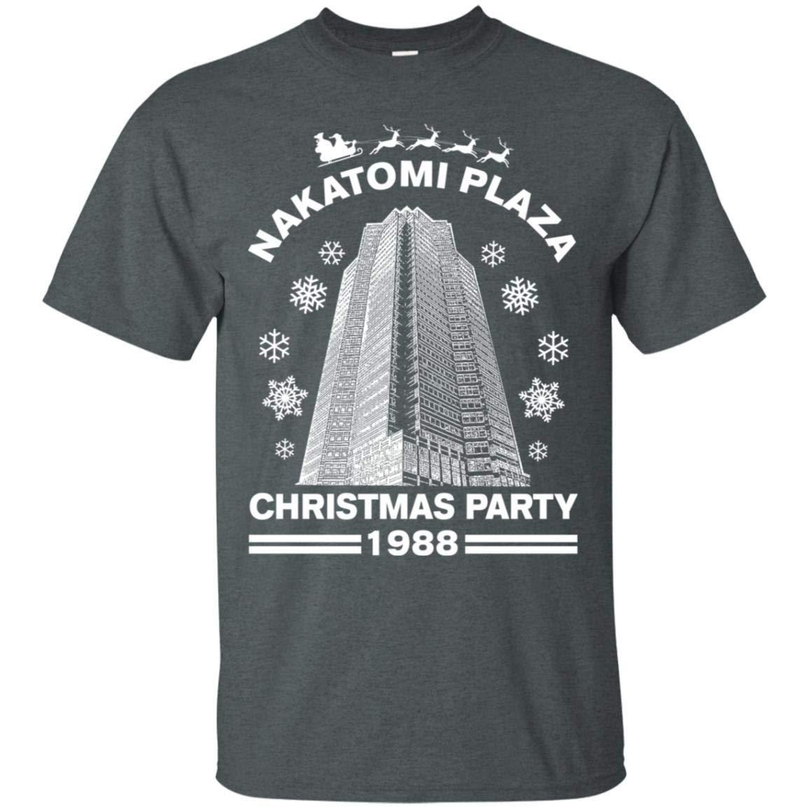 Teepowers Nakatomi Plaza Christmas Party 1988 Funny Pop Culture Unisex Tshirt