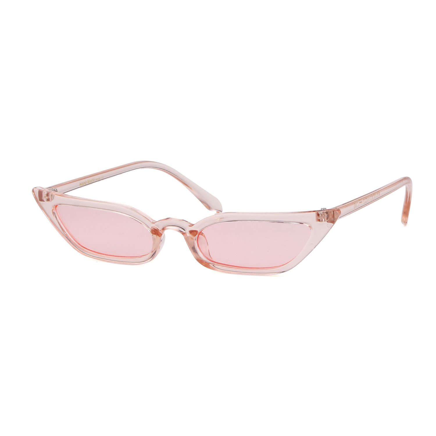 Vintage Sunglasses Women Cat Eye Candy lens Valentine's Day gift by ADEWU (Image #2)