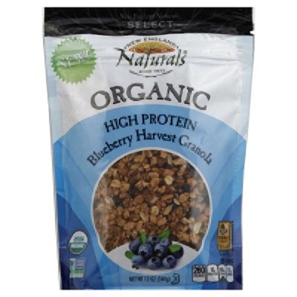 Organic High Protein Granola Blueberry Harvest, No Trans Fat 12 Oz 2 pack