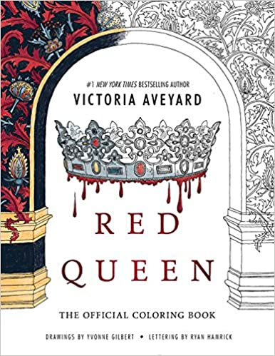 Amazon Red Queen The Official Coloring Book 9780062660411 Victoria Aveyard Books