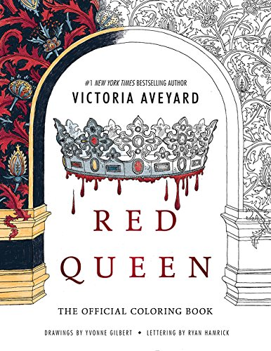 Red Queen: The Official Coloring Book (Christmas Cards Uk Red Cross)