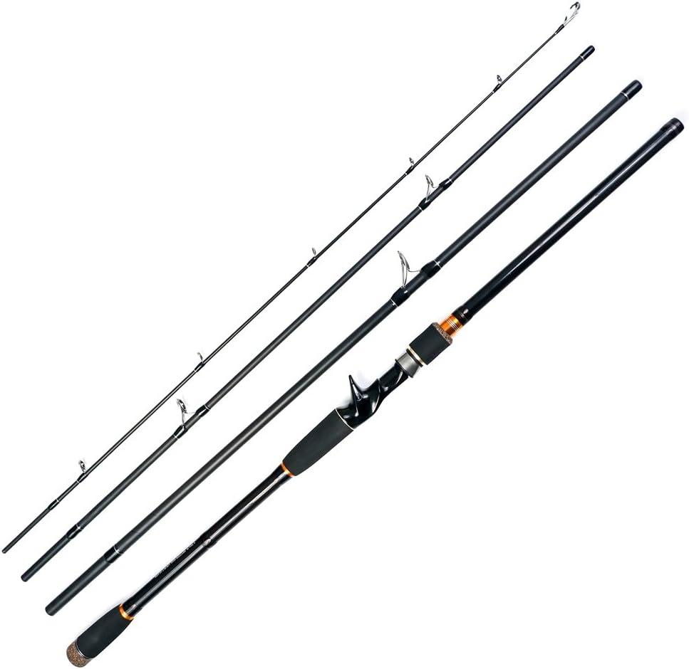 JOHNCOO Caña de Pescar Spinning Rod 1.98m/2.1m/2.4m Fishing Rod de ...