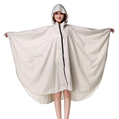 b009f1190a7f Juleya Newest Raincoat Women Waterproof Rain Wear Outdoors Backpack ...