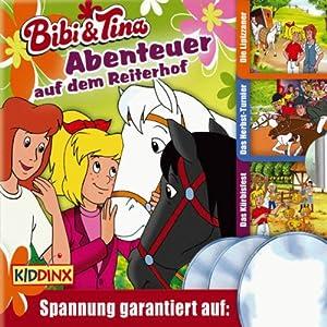 Bibi und Tina 3er-Box: Abenteuer auf dem Reiterhof Hörspiel