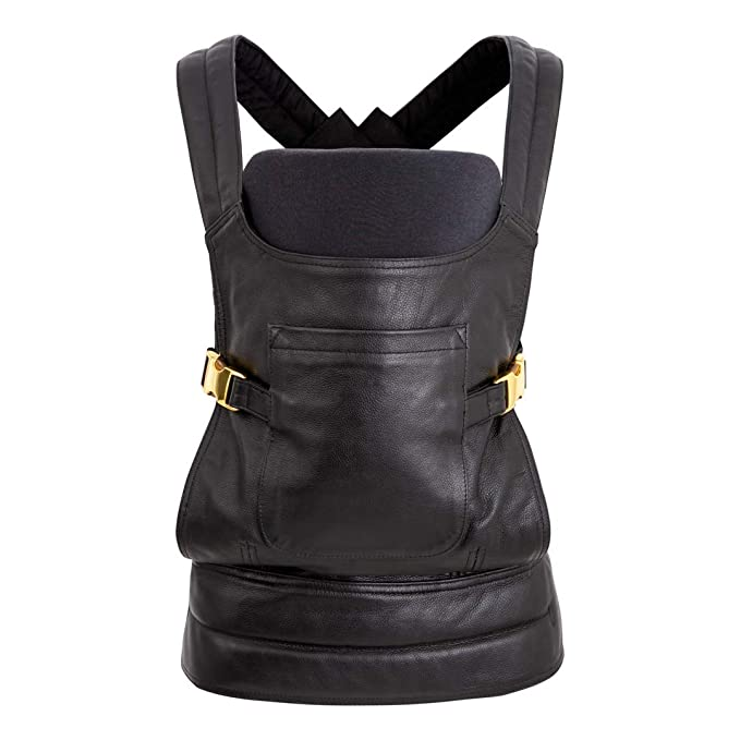 The BAE Luxe Leather Baby Carrier by