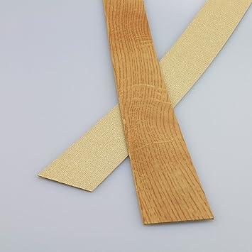 Kantenumleimer f/ür Mehrzweckplatten Eiche Hell 610 x 43 mm