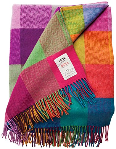 Avoca 100% Irish Lambswool Throw, 72