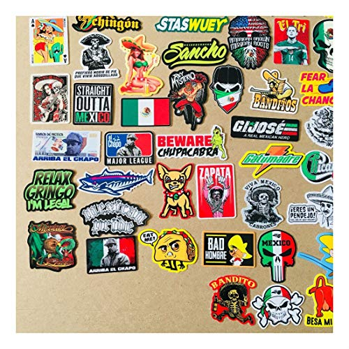 Super Mexican Hard Hat Stickers 82+ Mexico Hardhat Sticker & Decals, Helmet MX by Unknown (Image #2)