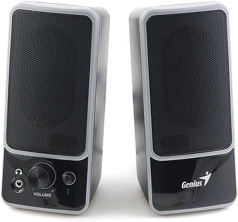 Genius SP-M200 - Altavoces, 6 W, 6 W, 2.0, 80 Db, 6 W, 200-18000 Hz: Amazon.es: Informática