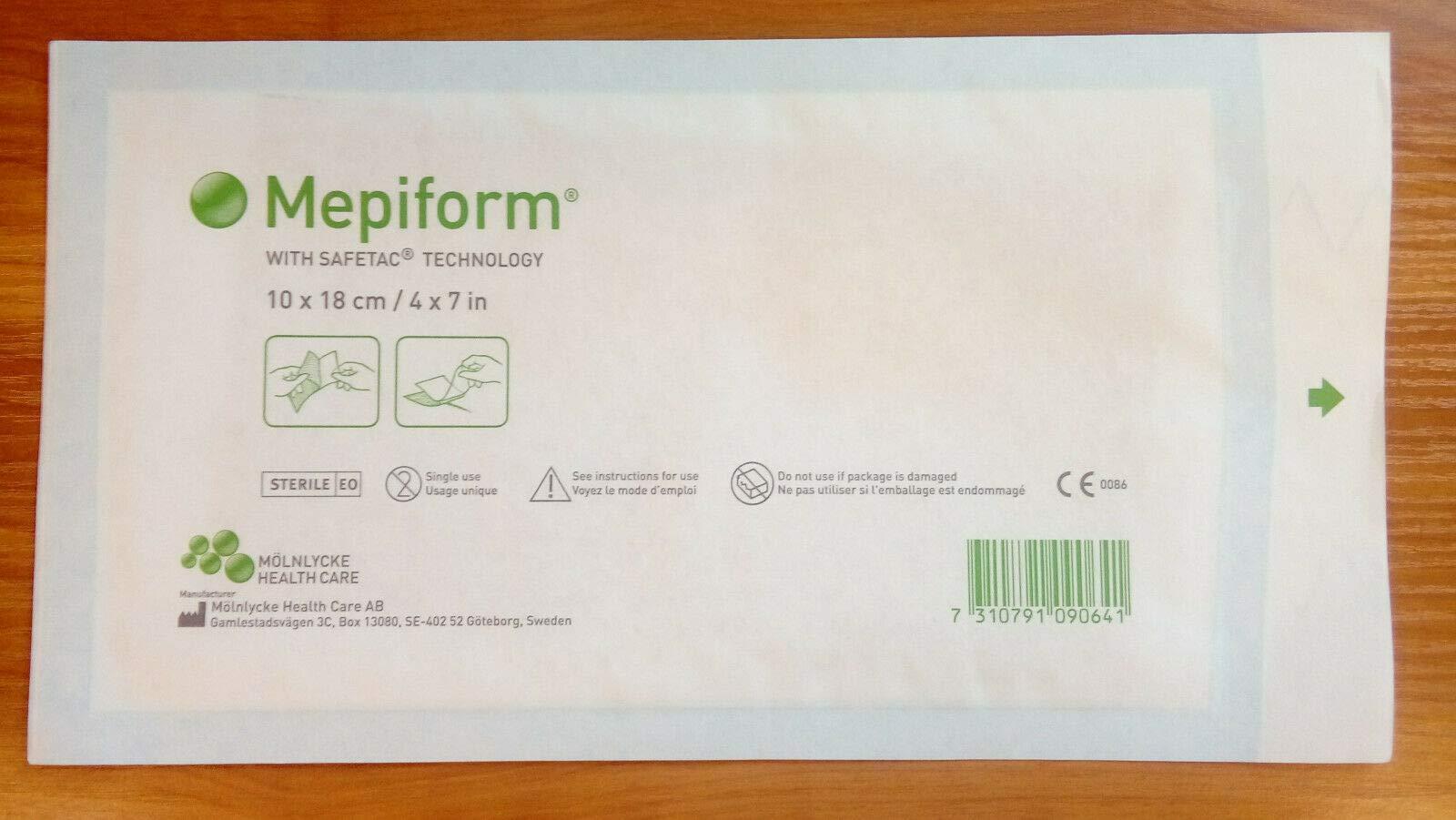 "Mepiform 4"" x 7"" - 1 Dressing"