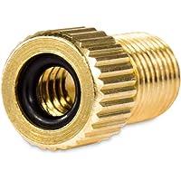 Drahtesel Fiets ventiel adapter van DV SV naar autoventiel - autopomp AV ventieladapter (1)