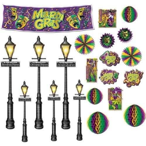 Mardi Decor Street Light Assortment