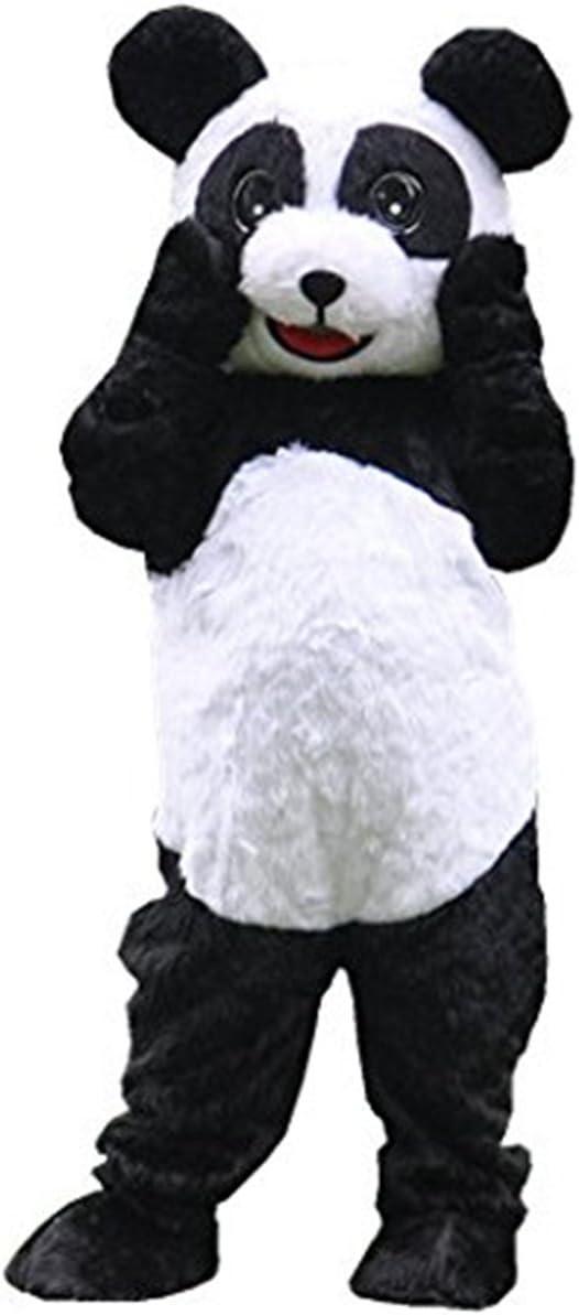 Gigante oso panda disfraz de mascota carácter adulto Halloween ...