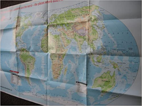 World Map: Doctors Without Borders: Amazon.com: Books on