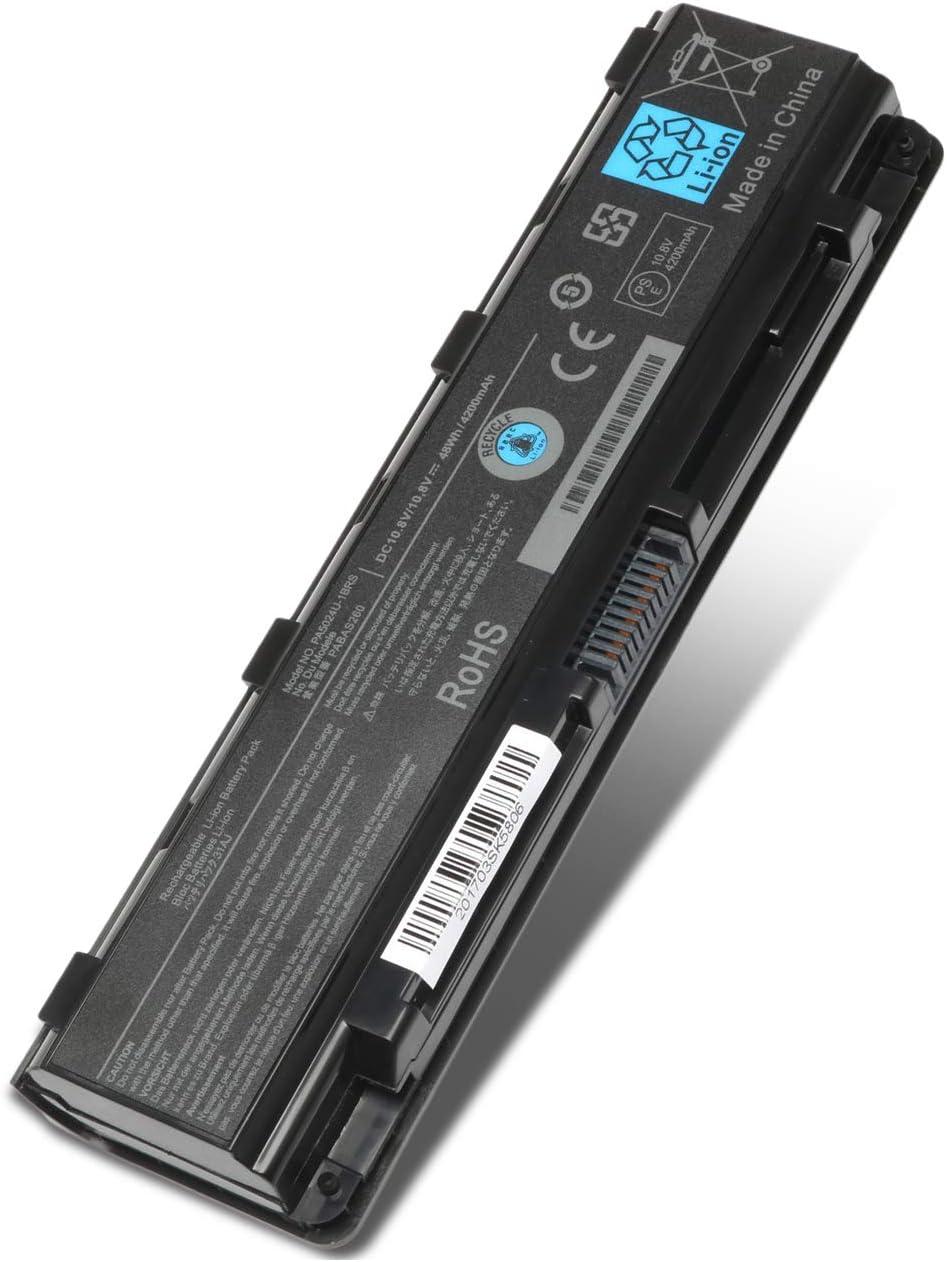 Ankon PA5109U-1BRS PA5024U-1BRS Battery Replacement for PA5023U-1BRS PA5024U-1BRS PA5025U-1BRS S70DT C55-A5302 C55-A5308 C55-A5309 C55D-A5150 [48 wh]