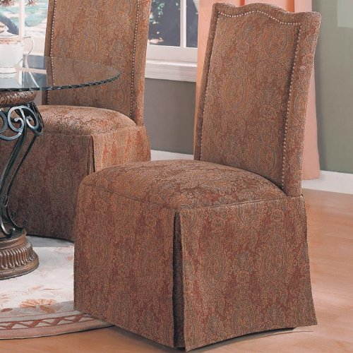 Coaster Home Furnishings Traditional Dining Chair, Brown