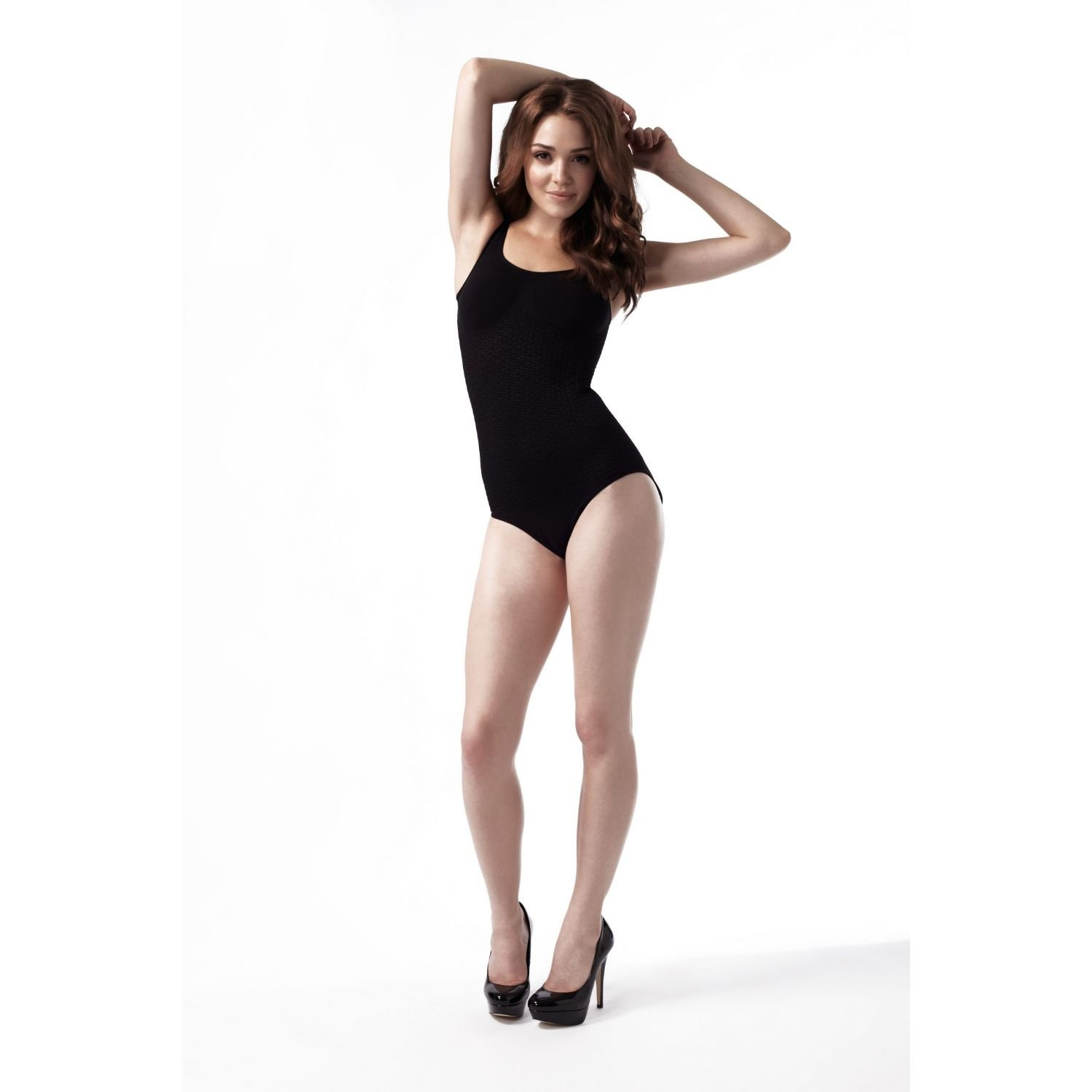 Peachy Pink London Anti-Cellulite Slimming Shapewear/All-in-One Body