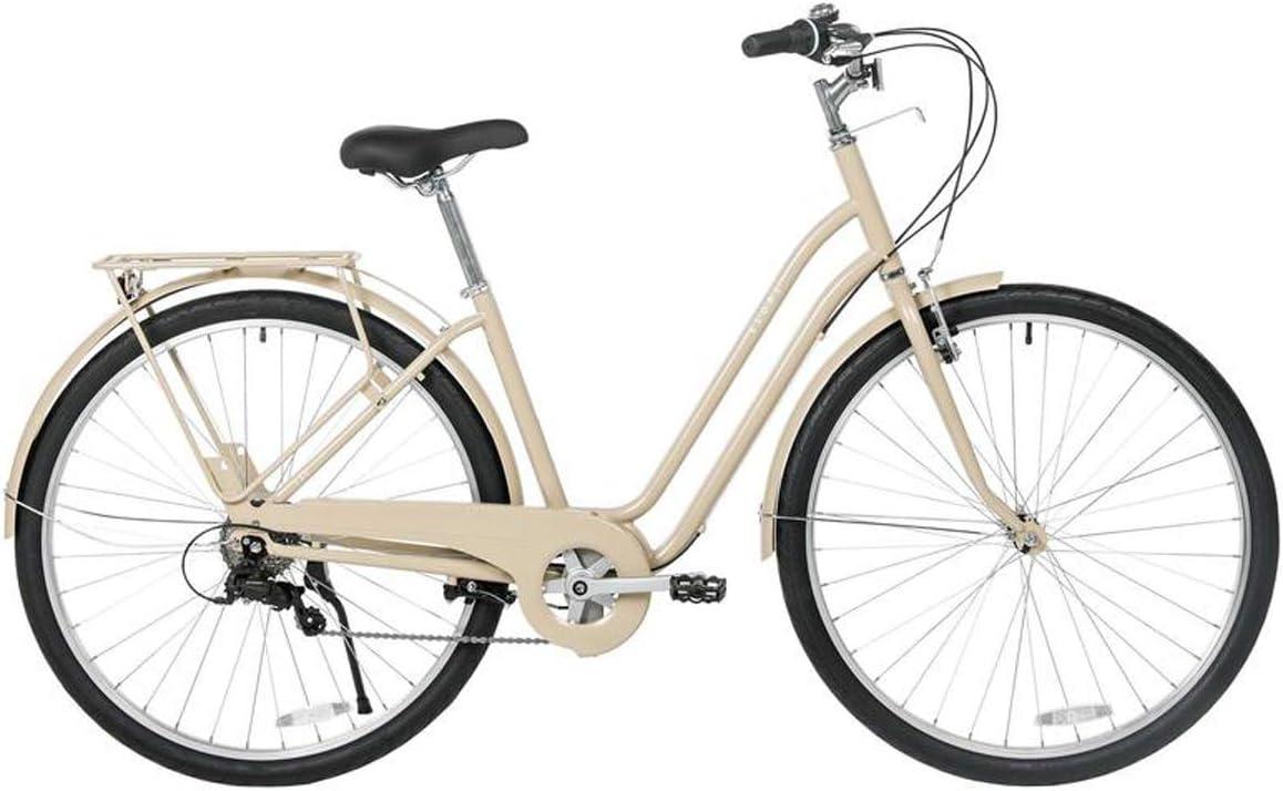 Bicicleta De Ciudad Bicicleta De Ocio De 6 Velocidades, Bicicleta De Mujer De 26 Pulgadas con Marco De Acero De Alto Carbono para Mujeres, Bicicleta De Ciudad Ligera: Amazon.es: Deportes y aire