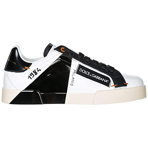 genuine shoes best website hot sale online Dolce & Gabbana Men's Shoes Leather Trainers Sneakers ...