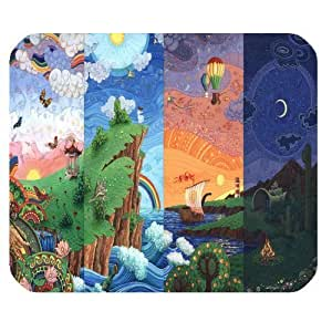 Personalized Customized 24 Hours Mouse pad Standard Rectangle Mousepad