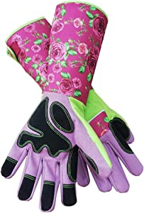 Rose Pruning Gardening Gloves Thorn Proof/Puncture Resistant Long Garden Gloves Protect Hands and Arms for Women