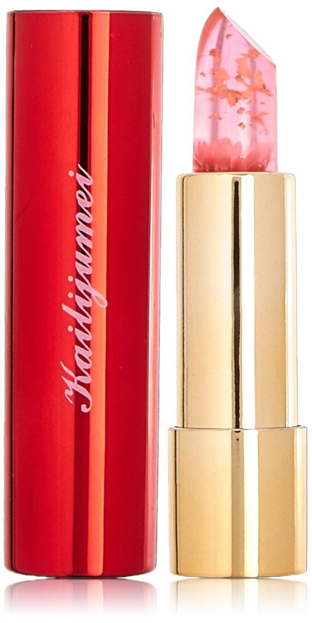 Kailijumei Flower Jelly Lipstick Original Mirror Casing, Barbie Doll Powder, Red