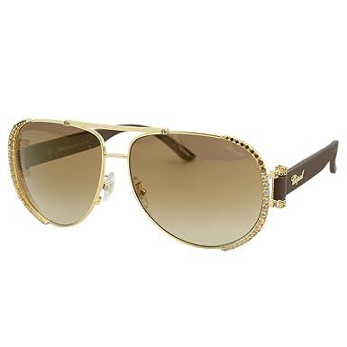 9873b57f3b6c3 Chopard - Lunette de soleil - Femme Or or  Amazon.fr  Vêtements et  accessoires