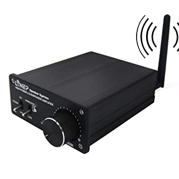 320W Bluetooth Wireless Digital Audio Receiver Power Amplifier For Music A918 Aluminio Negro, by LC