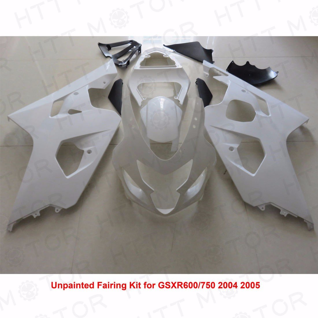 SMT MOTO- Unpainted ABS Plastic Injection Fairings Bodywork for 04 - 05 Suzuki GSXR 600 750