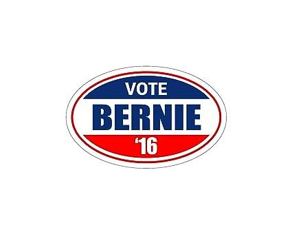 amazon com oval car magnet vote bernie sanders for president bumper